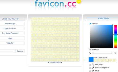 Сервис favicon.cc