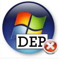 как отключить DEP в Windows 7