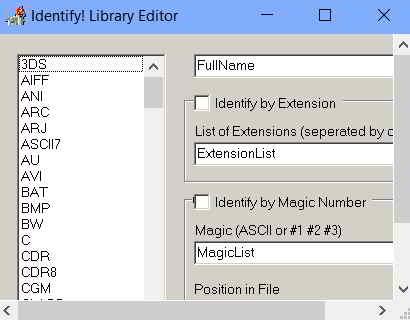 Форматы расширений файлов